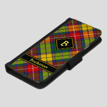Clan Buchanan Tartan iPhone 8/7 Wallet Case
