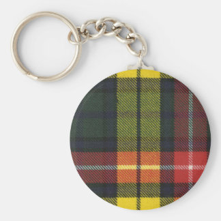 Clan Buchanan Tartan Key Chain
