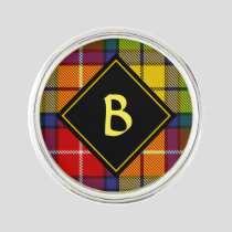Clan Buchanan Tartan Lapel Pin