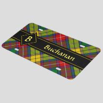 Clan Buchanan Tartan License Plate