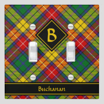 Clan Buchanan Tartan Light Switch Cover
