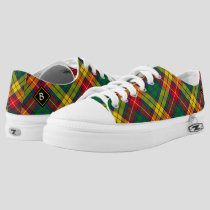 Clan Buchanan Tartan Low-Top Sneakers