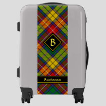 Clan Buchanan Tartan Luggage