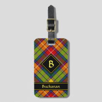 Clan Buchanan Tartan Luggage Tag