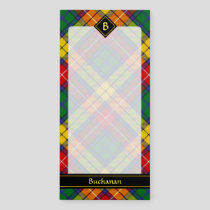 Clan Buchanan Tartan Magnetic Notepad