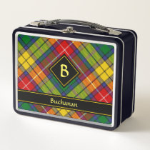 Clan Buchanan Tartan Metal Lunch Box