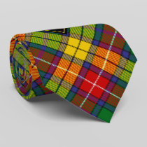 Clan Buchanan Tartan Neck Tie