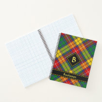 Clan Buchanan Tartan Notebook