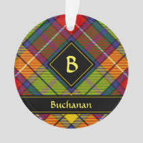 Clan Buchanan Tartan Ornament