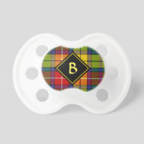 Clan Buchanan Tartan Pacifier