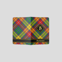 Clan Buchanan Tartan Passport Holder