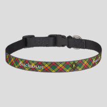 Clan Buchanan Tartan Pet Collar