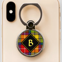 Clan Buchanan Tartan Phone Ring Stand