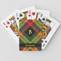 Clan Buchanan Tartan Playing Cards