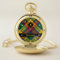Clan Buchanan Tartan Pocket Watch