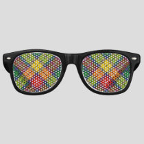 Clan Buchanan Tartan Retro Sunglasses