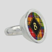 Clan Buchanan Tartan Ring