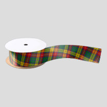 Clan Buchanan Tartan Satin Ribbon