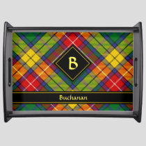 Clan Buchanan Tartan Serving Tray