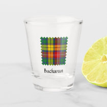 Clan Buchanan Tartan Shot Glass