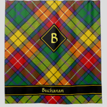 Clan Buchanan Tartan Shower Curtain