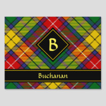 Clan Buchanan Tartan Sign