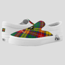 Clan Buchanan Tartan Slip-On Sneakers