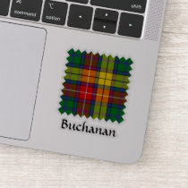 Clan Buchanan Tartan Sticker