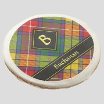Clan Buchanan Tartan Sugar Cookie