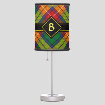Clan Buchanan Tartan Table Lamp