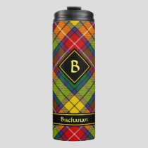 Clan Buchanan Tartan Thermal Tumbler