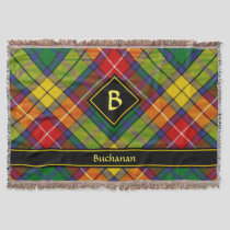 Clan Buchanan Tartan Throw Blanket