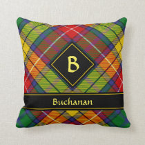 Clan Buchanan Tartan Throw Pillow