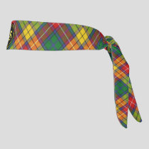 Clan Buchanan Tartan Tie Headband