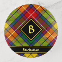 Clan Buchanan Tartan Trinket Trays