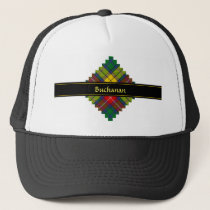 Clan Buchanan Tartan Trucker Hat