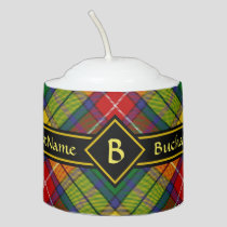 Clan Buchanan Tartan Votive Candle