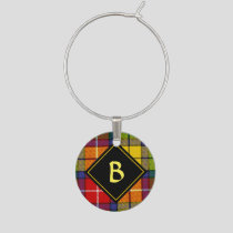 Clan Buchanan Tartan Wine Charm