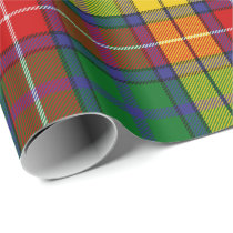 Clan Buchanan Tartan Wrapping Paper