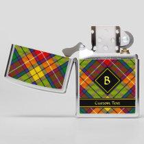Clan Buchanan Tartan Zippo Lighter