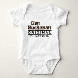 Clan Buchanan Vintage Customize Your Birthyear Baby Bodysuit