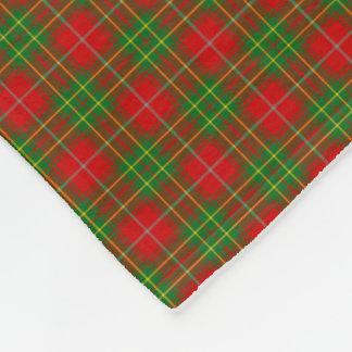 Clan Burnett Tartan Fleece Blanket
