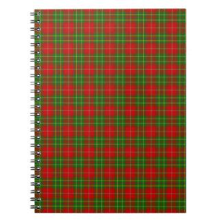 Clan Burnett Tartan Notebook