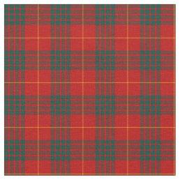 Clan Cameron Tartan Fabric