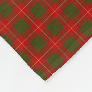 Clan Cameron Tartan Fleece Blanket