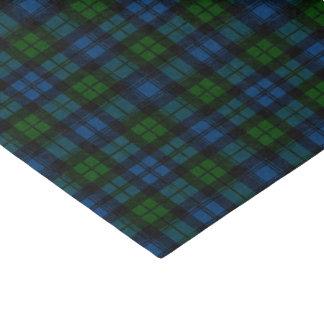 "Clan Campbell Military Tartan 10"" X 15"" Tissue Paper"