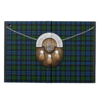 Clan Campbell Military Tartan And Sporran iPad Air Cover