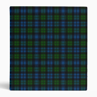 Clan Campbell Military Tartan Binder