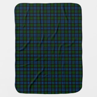 Clan Campbell Military Tartan Swaddle Blanket