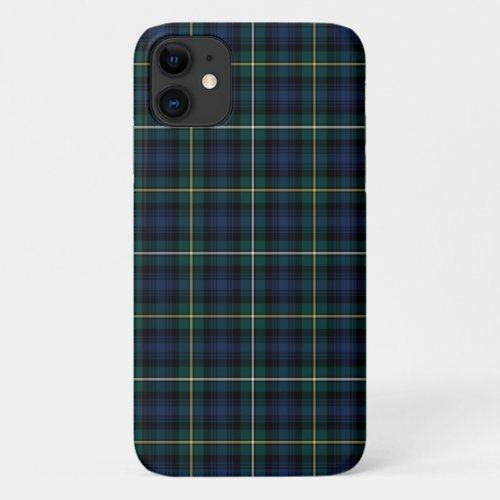 Clan Campbell of Argyll Tartan Phone Case
